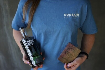 Blue Whiskey Trail Tee
