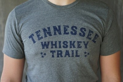 Grey Whiskey Trail Tee