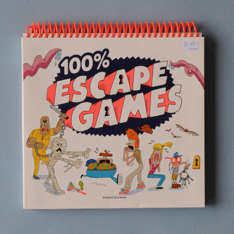100% escape games