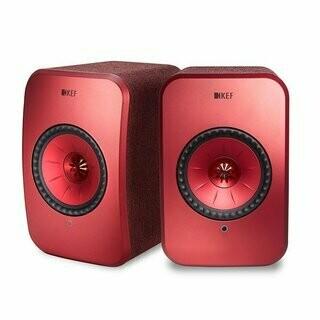 KEF LSX (Rot) - (1 Paar) - Ausstellung