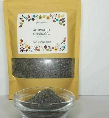 Activated Charcoal Salt