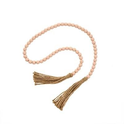 Pink Tassel Prayer Beads