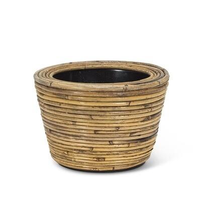 Striped Round Planter