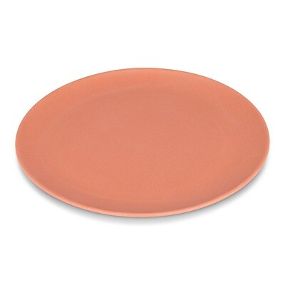 Coral Bamboo Dinner Plate