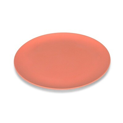 Small Coral Bamboo Plate