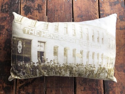 Henderson Bicycle Co. in Goderich Pillow