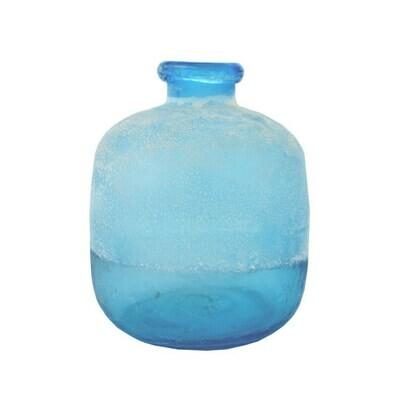 Glass Vase Cracked & Sand