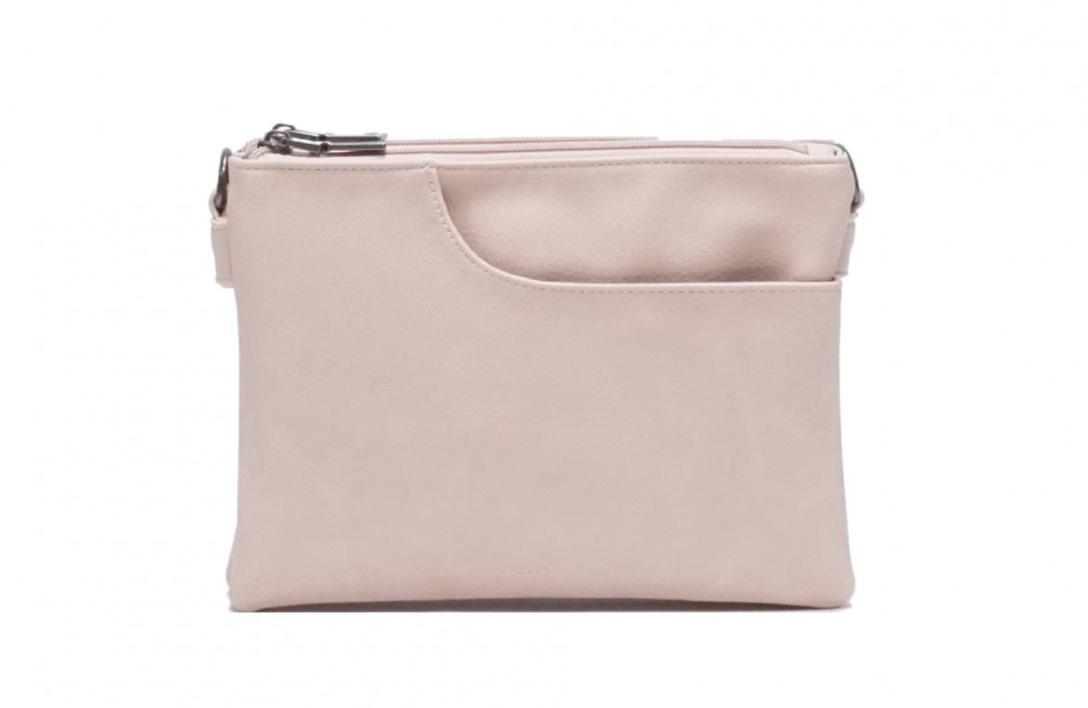 SQ ~ Elisa Crossbody Bag - Powder Pink