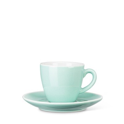 Mint Espresso Cup and Saucer
