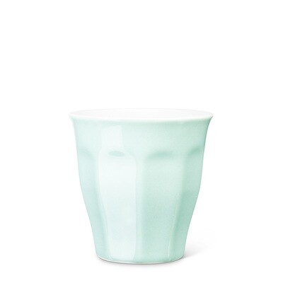 Mint Panelled Cappuccino Cup