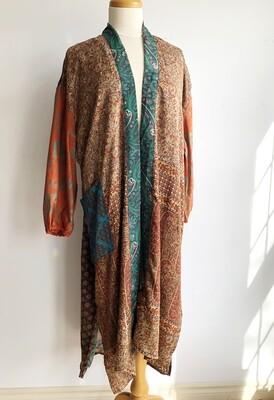 Upcycled Sari Robe ~ Jessica