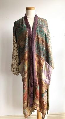 Upcycled Sari Robe ~ Janis