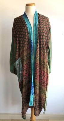 Upcycled Sari Robe ~ Katie