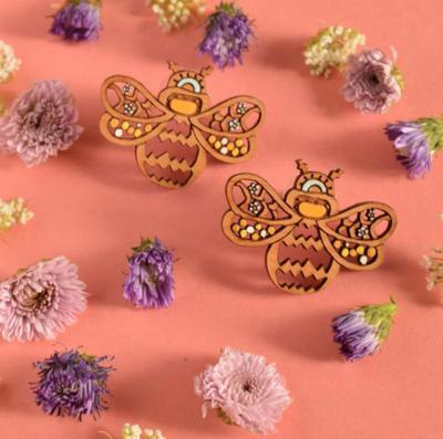 Rylee and Ink ~ Bee earrings