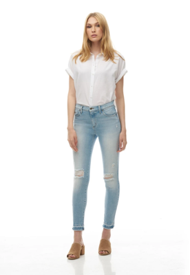 Yoga Jeans - Rachel Skinny Jeans / The Pier