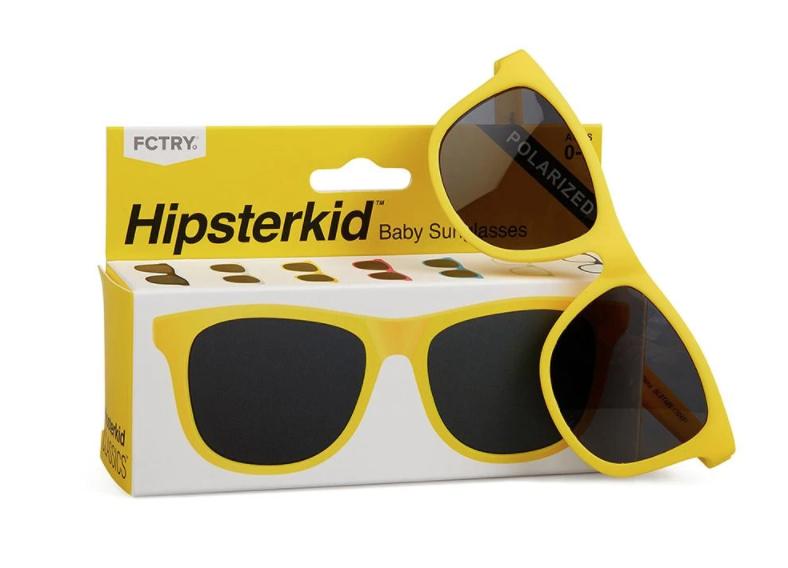 Yellow Hipsterkid Sunglasses