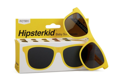 Yellow Hipsterkid Sunglasses