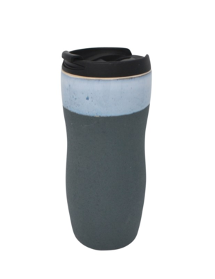 Ceramic Takeout Coffee Mug - Chalk