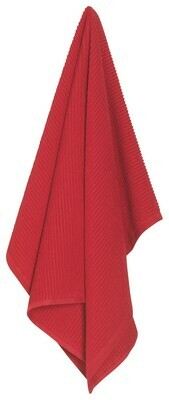 Red Ripple Dishtowel
