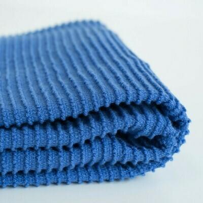 Ripple Dish Towel Royal Blue