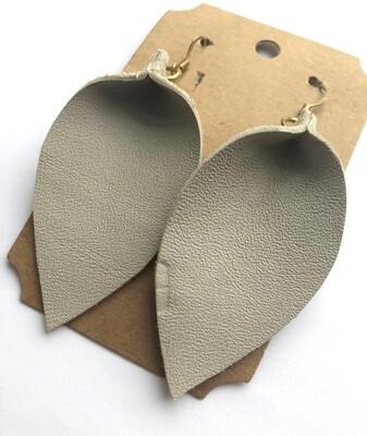 Bee and Sallie ~ Stone Petal Earrings