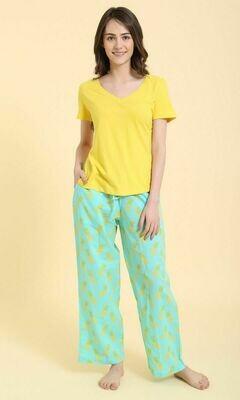 PJ Pants-in-a-Bag ~ Pineapple