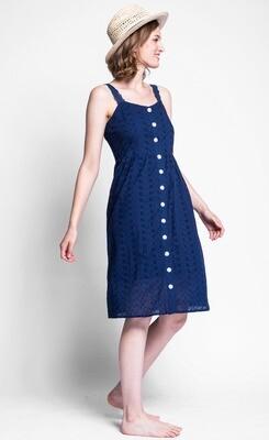 Pink Martini ~ The Jourdan Dress - Blue