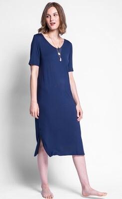 Pink Martini ~ The Jasmine Dress - Blue