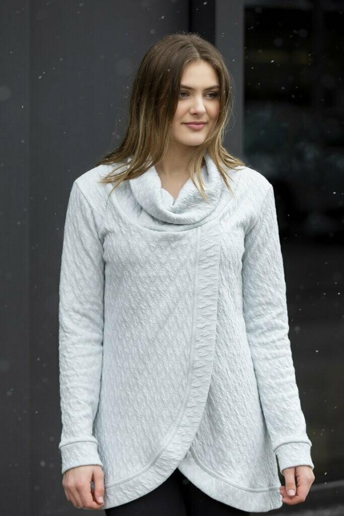 Blondie ~ Adelaide Cross Front Sweater