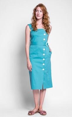 Pink Martini - The Minnie Dress - Green