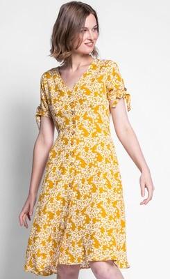 Pink Martini ~ The Mia Dress - Yellow
