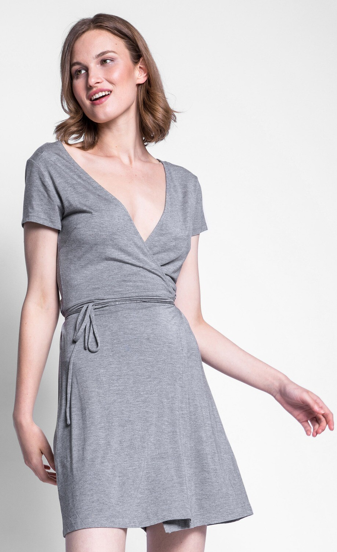 Pink Martini ~ The Kiera Dress - Grey