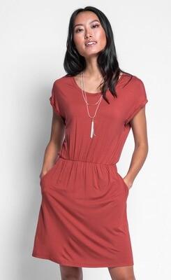 Pink Martini ~ The Becca Dress - Rust