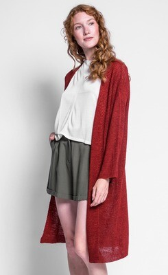 Pink Martini ~ The Abigail Sweater - Red