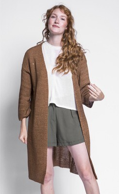 Pink Martini ~ The Abigail Sweater - Brown