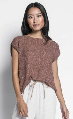 Pink Martini ~ The Louie Sweater - Brown