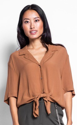Pink Martini ~ The Roxette Top - Brown