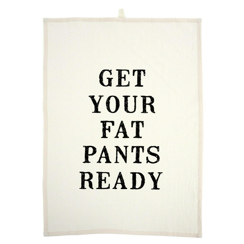 Fat Pants Tee Towel