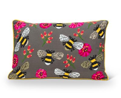 Bee & Bloom Pillow