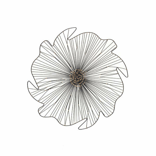 Wire Flower Wall Art