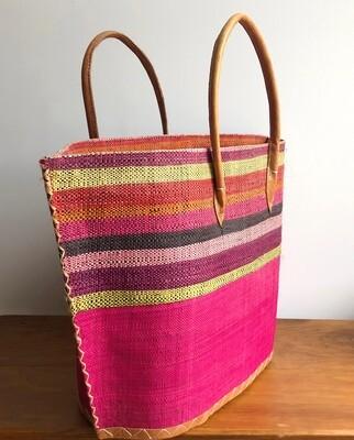 Madagascar Basket - Pink