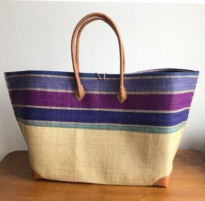 Madagascar Basket - Blue & Purple