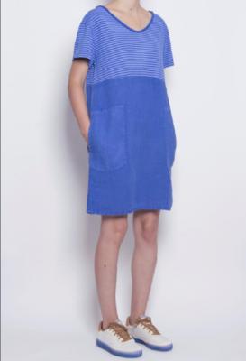 PAN ~ Blue/Striped Dress