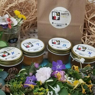Buddy's Farm Honey ¼ Pint Sampler