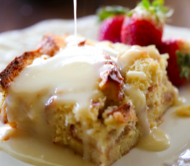 Classic OMG Bread Pudding (single serving)