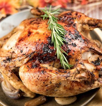 Wood Fired (Half) Organic all Natural Chicken from Farmer Joe Farms Salvisa Ky