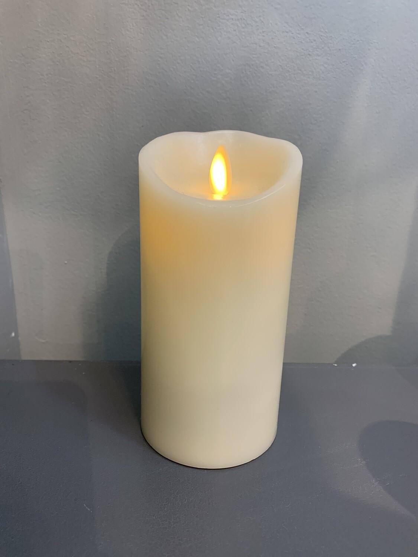 "3""x6"" Ivory Pillar Candle"