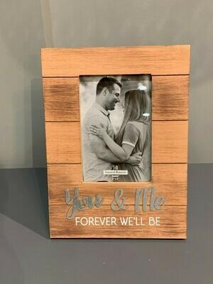 You & Me Forever 4 x 6 frame