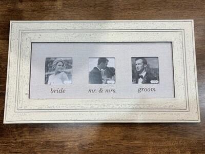 Linen Wedding Frame
