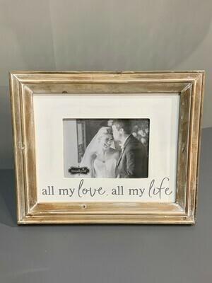 All My Love Frame